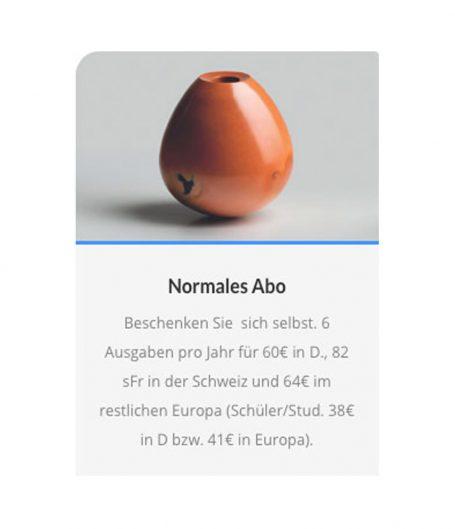 Neue Keramik Abos
